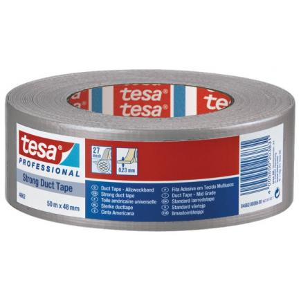 Extra Strong Duct Tape made of 27 mesh - Silver