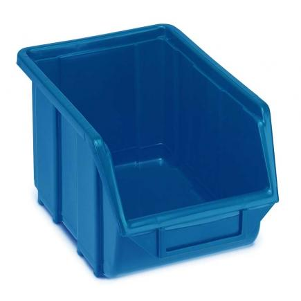 Plastic stackable small parts organizer 16x25x12,9
