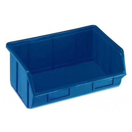 Plastic stackable small parts organizer 34,4x25x12,9