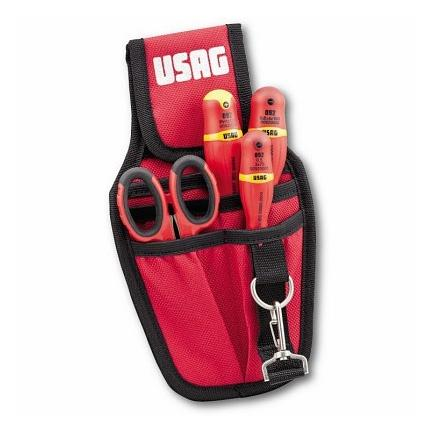 Tool pouch with an assortment for electricians (4 pcs)