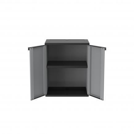 2 Doors Outdoor Cabinet 68x37,5x85 - 1 adjustable inner shelve