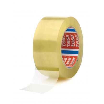 Set of 6 Carton Sealing Tape Noisy unwinding - Transparent