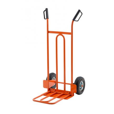 Lightweight Hand Truck with Foldable Plate