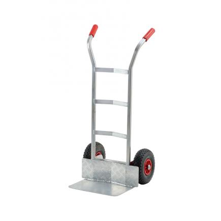 Aluminium hand-truck for gas cylinders