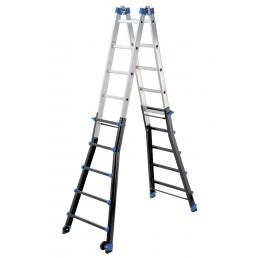 Professional multifunction telescopic ladders