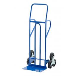 Professional steel hand-truck with triple wheel