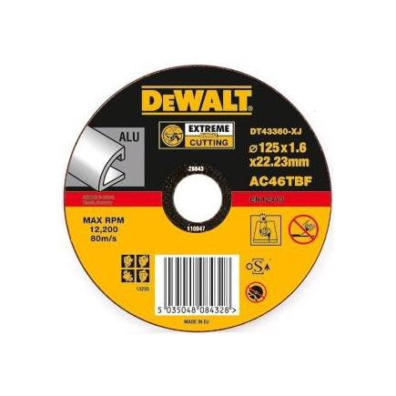 EXTREME Angle Grinder Aluminium Cutting Disc - Flat Centre (25 pcs.)