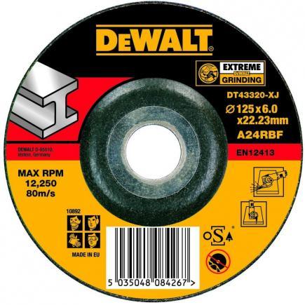 EXTREME Angle Grinder Metal Deburring Disc - Depressed Centre (25 pcs.)