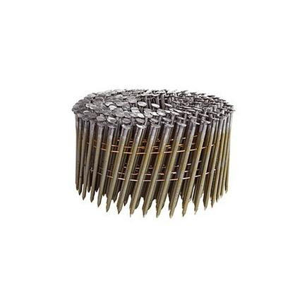N-Series Round Headed Nails Smooth Shank - Bright