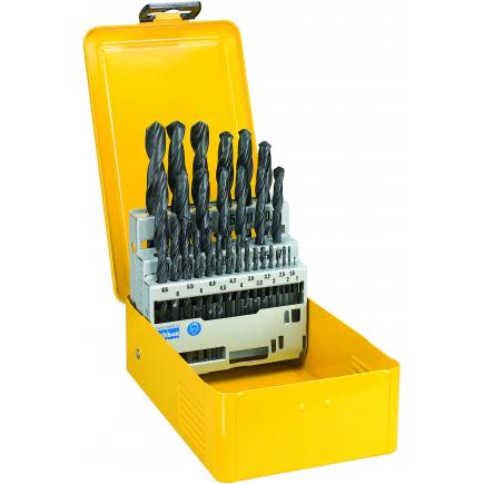 Series of 29 HSS Metal Drill Bits in Metal Case