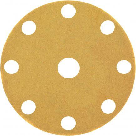 Sanding Disc for Orbit Sander - 9 Holes Punched (25pcs)