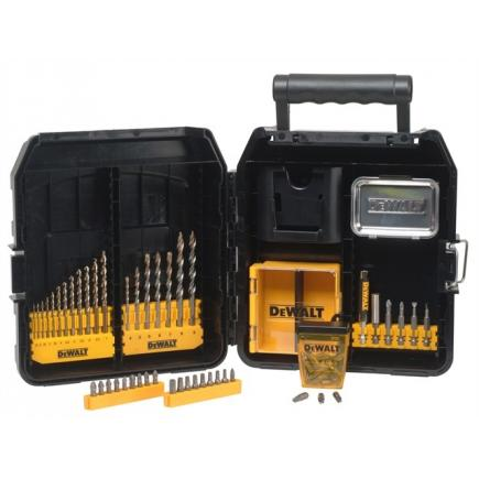 72-piece Drilling and Screwing Set - for Masonry