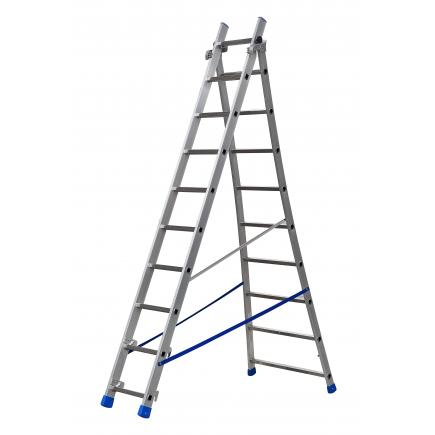 Convertible Ladder in two sections