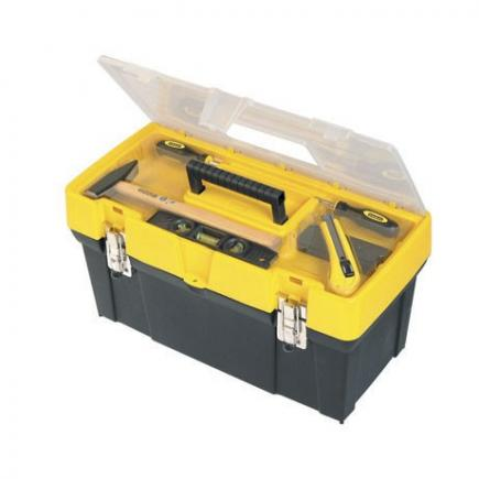 "19"" Clear Lid Toolbox"