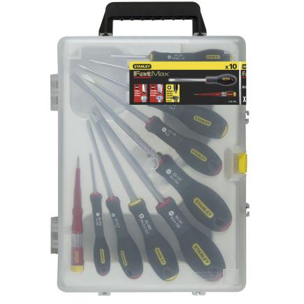 10 pcs. Fatmax® Parallel Flared Pozi Set