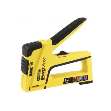 4In1 Light Duty Stapler- Brad Nailer - Type A Tacker
