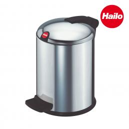 Pedal cosmetics bin with dome lid - 4L
