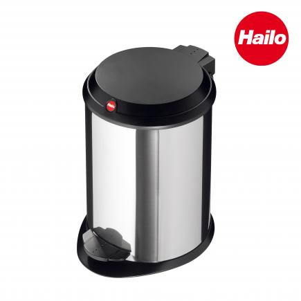 Stainless Steel Cosmetics Bin with Plastic Lid 4L