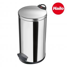 Pedal Bin with separable red handle 20L