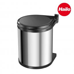 Fitted waste bin 15L