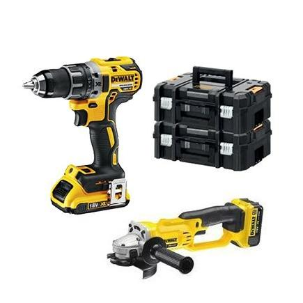 Cordless Drill Driver + Angle Grindle