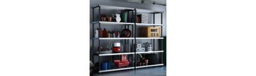 Metal/Plastic Shelving Units