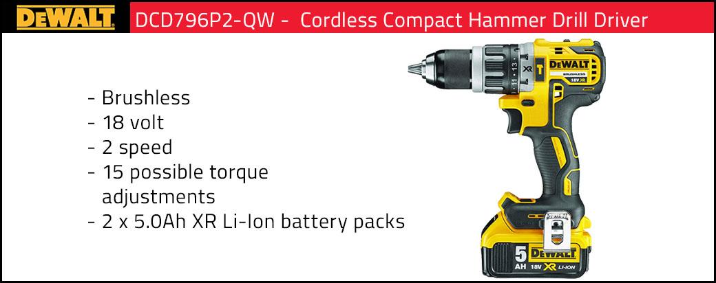 DeWalt Compact Hammer Drill